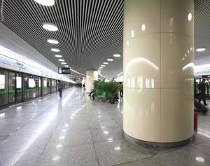 易博仕铝方通地铁应用