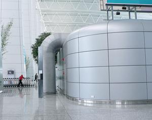 易博仕异形板机场应用