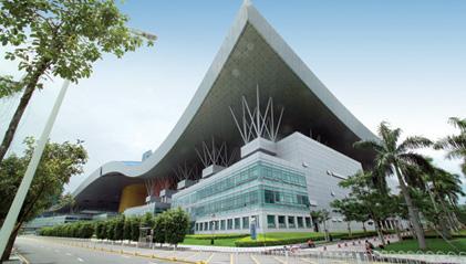 广东某市科技中心室内和室外铝单板工程