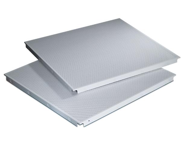 600*600工程暗架铝方板