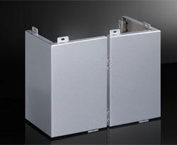 包柱铝单板(方型有缝)