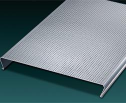 C型防风条扣铝天花