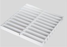 组合型铝格栅